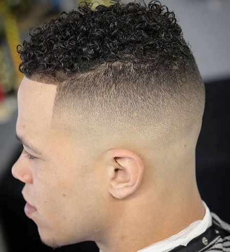 Natural curl Fade Ideas for Curly Hair