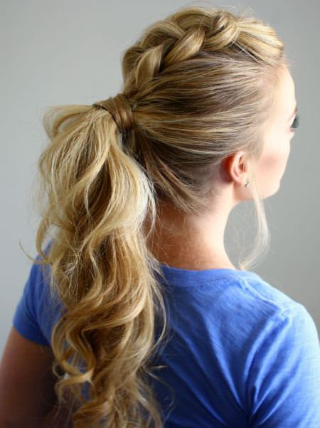 Quick and simple braided mohawks