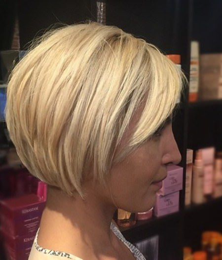 Sleek cropped bob hair choppy bob hairstyles