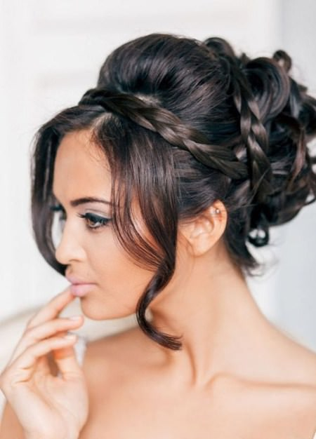 Styling Greek updo for long hair hairstyles for brides and bridesmaids