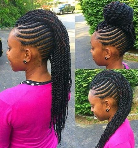 Versatile braid and twist hairstyles for natural hair