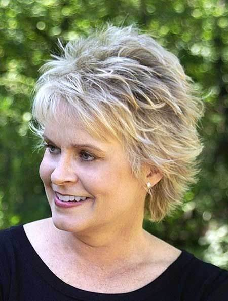 bedhead hairstyles for older women