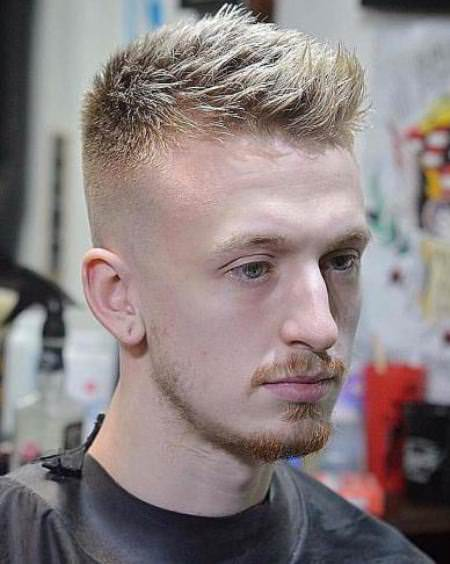 blonde hairstyles with skin fade hairstyles for balding men