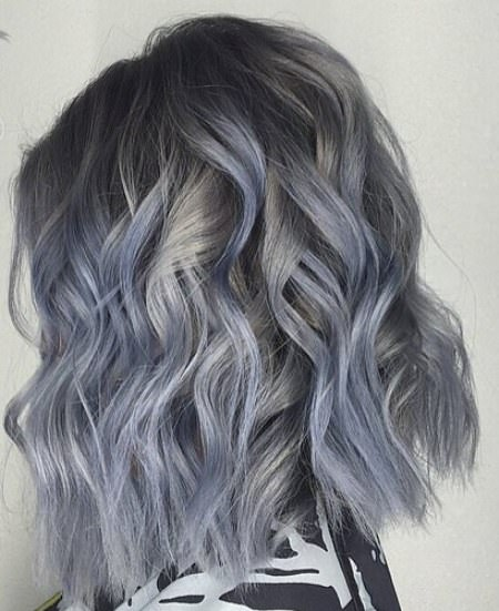 blue gray madness gray hair trend