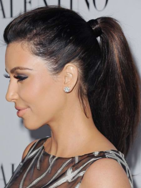 bottle ponytail frizz hairstyles