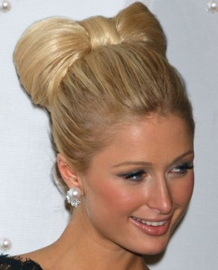 bow updo updos for long hair