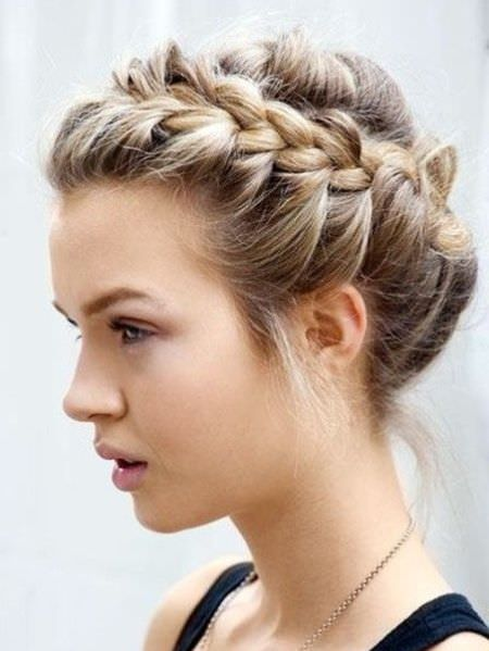 braided crown for long hair Long Straight Hairstyles and Haircuts