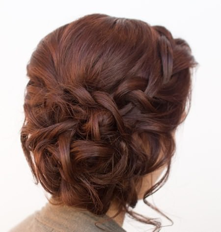 breathtaking side updo hairstyles for brides and bridesmaids