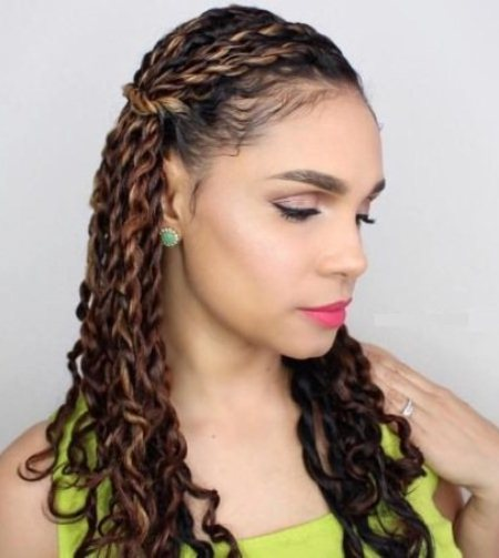 brown twisted hairstyle hairstyles for natural hair