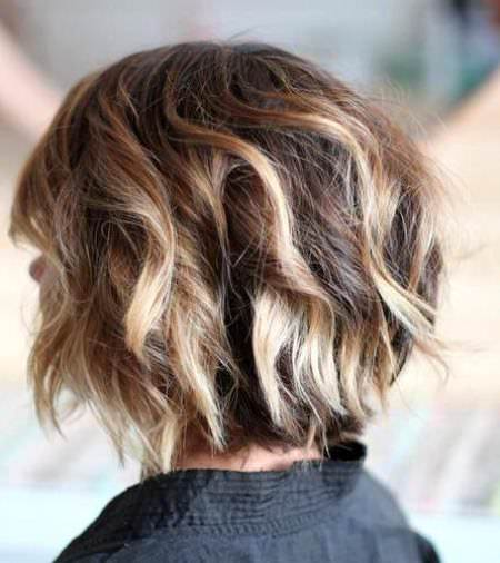choppy bob with blonde highlights choppy bob hairstyles