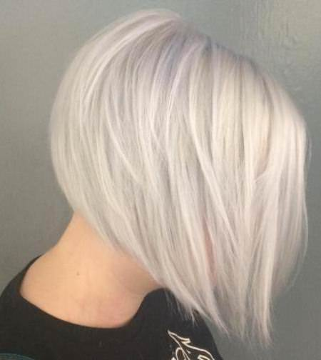 choppy silver blonde layers choppy bob hairstyles