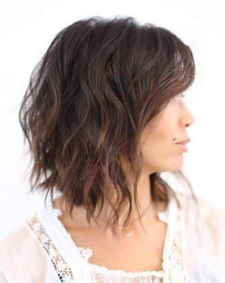 choppy waves with soft waves choppy bob hairstyles