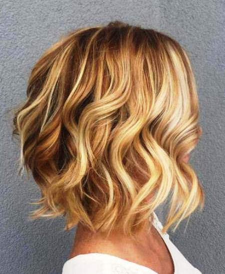 choppy with curls choppy bob hairstyles