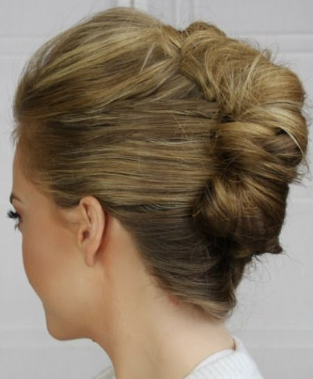 classic french twist updos for long hair