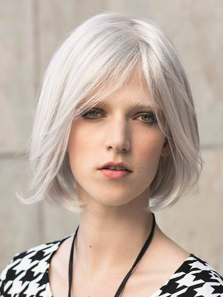 classic gray bob hairstyles for gray hair