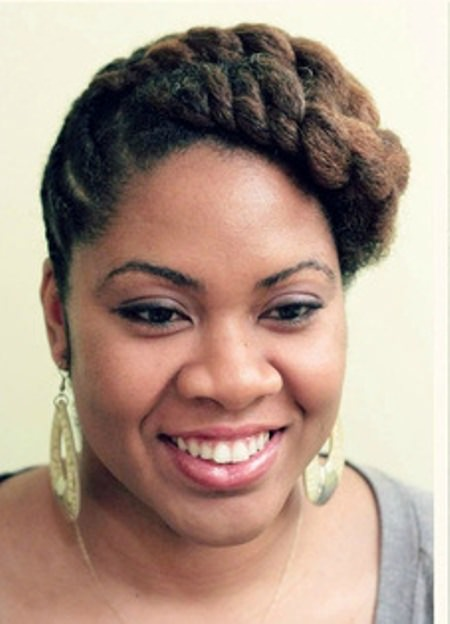 classic weave updos for natural hair