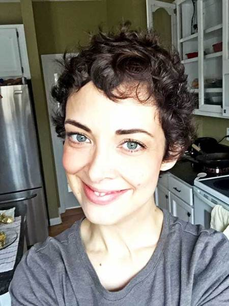 closely cropped curls wavy pixie cuts