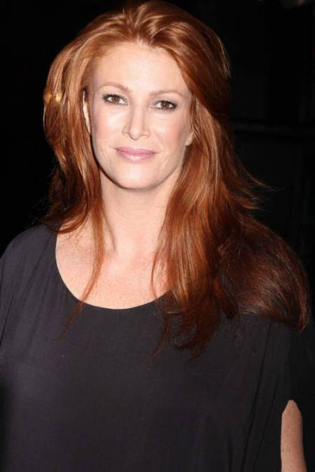 fiery red locks with lifted roots long red hairstyles