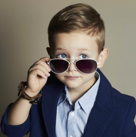 formal side parting baby boy haircuts