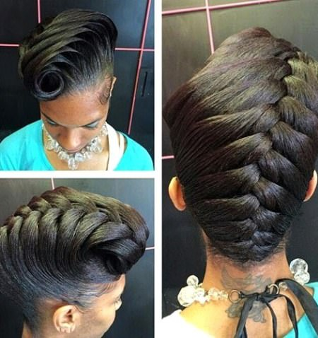 french braided updo updos for natural hair