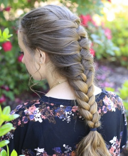 french braidstyles for girls