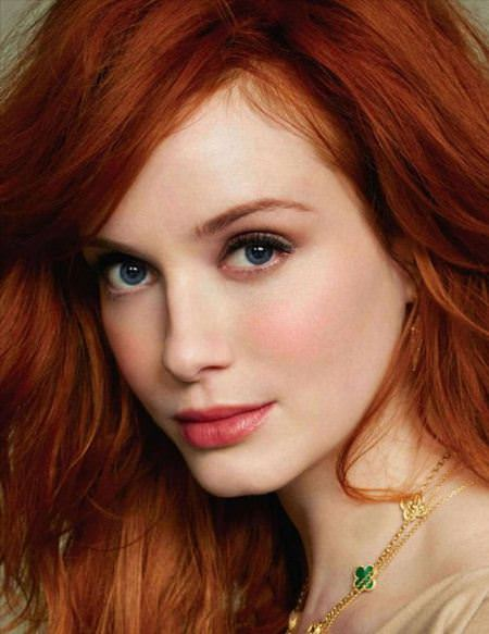 ginger red long layered hairstyle long red hairstyles