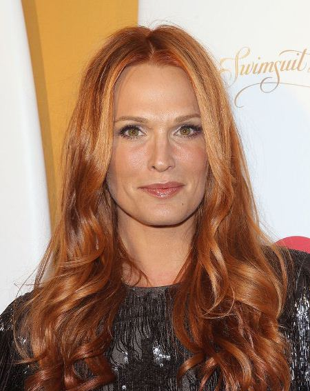 golden red shades of red hair for women