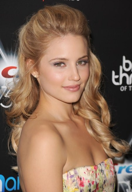 half updo blonde hairstyles celebrity looks with long blonde hairstyles