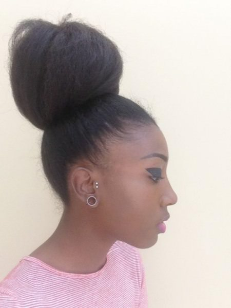high bun cool solutions for black coils
