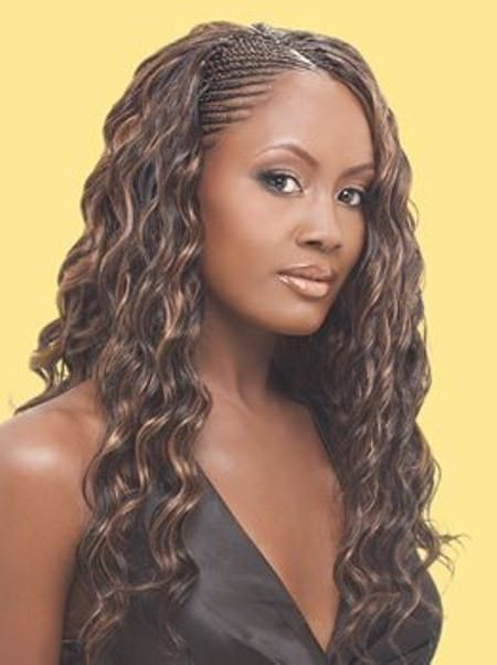 highlighted tree braids hairstyles