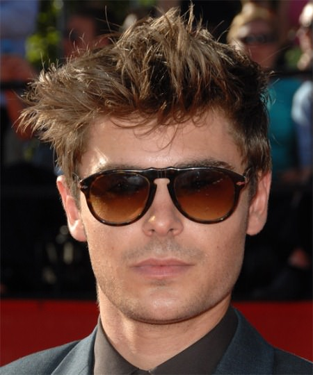 ironical messy hairstyle Zac Efron Hairstyles