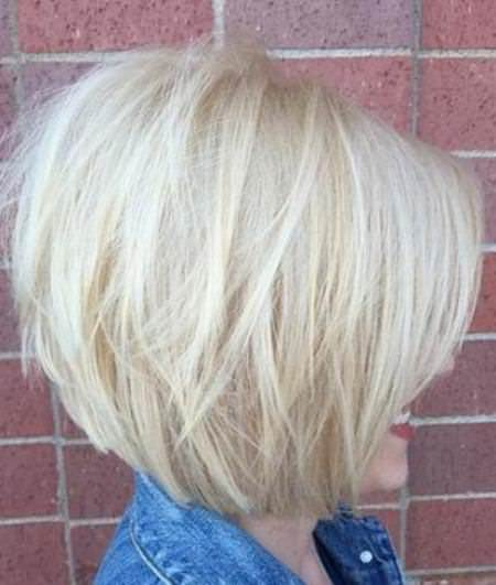layered bob with bangs choppy bob hairstyles