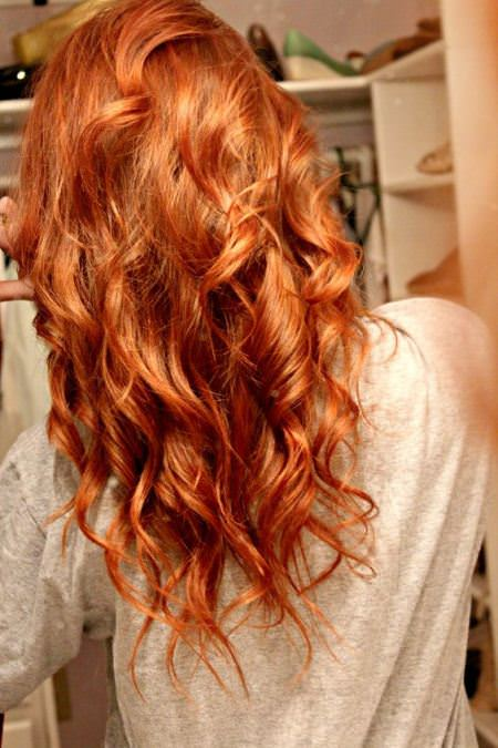 light copper curls mind-blowing ideas to bright up your life