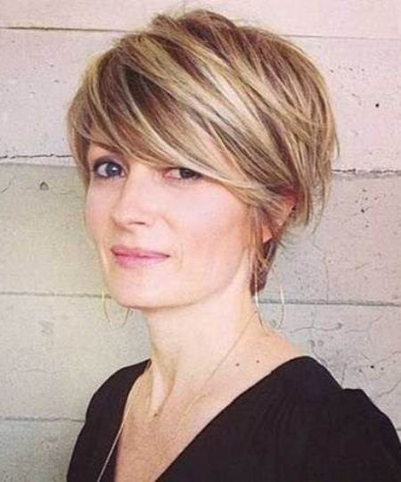 long pixie cut short fringe Hairstyles