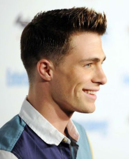 medium tapered hairstyles for men