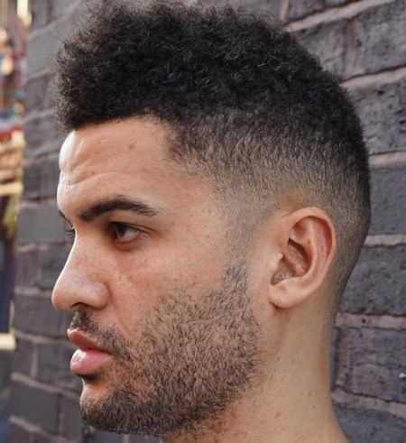 naturally cool shaved crop Shaved Sides Hairstyles and Haircuts for Men