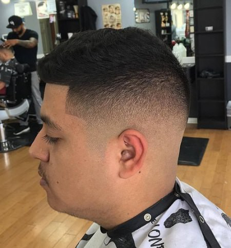 perfect shaved fade Shaved Sides Hairstyles and Haircuts for Men