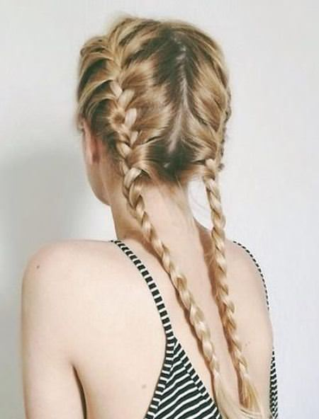 pretty pretty pigtails french braid hairstyles