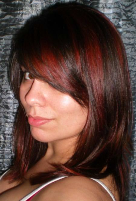 red hair color with highlights of brown mind-blowing ideas to bright up your life