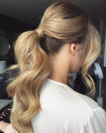 refined bridesmaid hair hairstyles for brides and bridesmaids