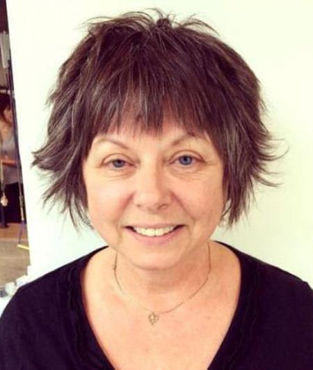 shaggy pixie cut with bangs short fringe Hairstyles