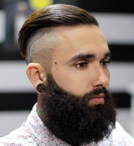 shaved hipster undercut Shaved Sides Hairstyles and Haircuts for Men
