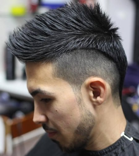 shaved rocker crop Shaved Sides Hairstyles and Haircuts for Men