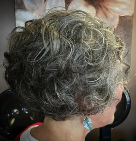 short curly haircuts for women over 70