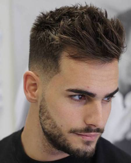 short sides and textured top hairstyles for men