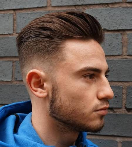 short sides style Shaved Sides Hairstyles and Haircuts for Men