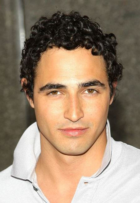 short tight curls hairstyles for men