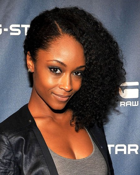 side swept natural hair cool solutions for black coils