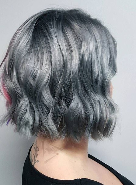 silver spice gray hair trend
