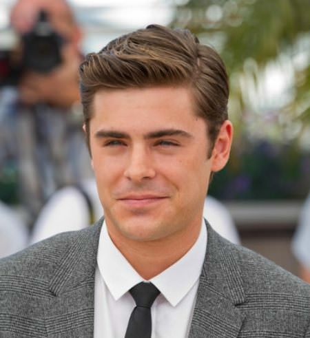 simple hairstyle with a side part hairstyles for men